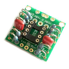 DC OP AMP preamp double amplification Board PCB NE5532 OPA2134 OPA2604 AD826 ATF