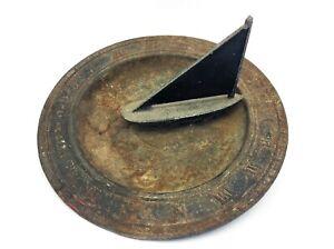 The Mariners Sundial 23-7 VM Sailboat Garden Décor Decorative Sun Dial Vintage