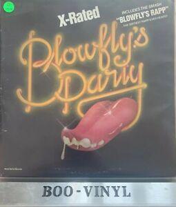 Blowfly - Blowfly's  -x-rated - Original Vinyl Lp Record Vg+ Con Rare