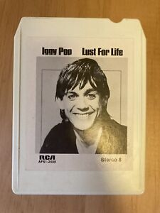 Iggy Pop Lust For Life 8 Track Tape