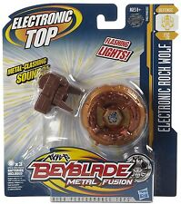 Beyblade Electronic Rock Wolf Metall Fusion Bayblade Bey Blade NEU