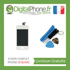 VITRE TACTILE + ECRAN LCD RETINA POUR IPHONE 4S BLANC + OUTILS TVA TOP QUALITY