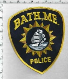 Bath Police (Maine) 4th Issue Shoulder Patch