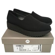 PETER KAISER Daria Comfortable Stretch Platform Shoe in Black Size 5 UK