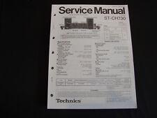 Original Service Manual Technics ST-CH730