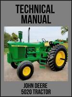 John Deere 5020 Tractor Technical Manual TM1022 On USB Drive