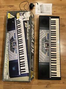 Keyboard Bontempi 61 Profitasten Keyboard Gut erhalten