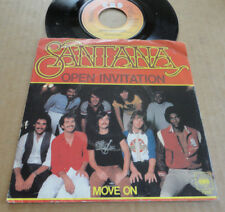 "DISQUE 45T DE SANTANA  "" OPEN INVITATION """