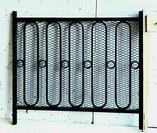 Grille de protection Garde corps Cache radiateur en fer forgé XX siècle