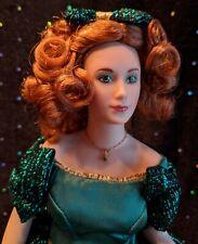 "New ListingFranklin Mint, Heirloom, Vintage, Emerald Gemstone Girl, Porcelain, 13"" Doll"