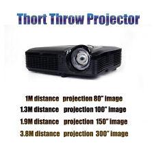 New 6500 lumen Home Theater Bar Church ultra short throw projector office school