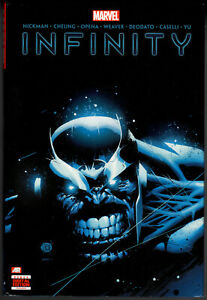 Infinity OHC Hardcover Jonathan Hickman Avengers FN+ Thanos