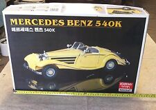 1:16 Scale Mercedes Benz 500K Plastic Model Kit (Sealed) 13 INCH