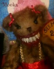 Ooak LNMs Horror Haunted Teddy Bear zombie dead doll gothic monster