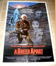 A Breed Apart, Kathleen Turner vintage 1984 original 27x41 cinema poster