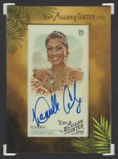 2019 TOPPS ALLEN & GINTER DANIELLE COLBY AUTOGRAPH American Pickers Star! (2533)