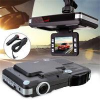 2 in1 Auto DVR Radar Dash Cam Laser Video Geschwindigkeit GPS Kamera Recorder