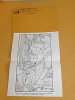 1780 REVOLUTIONARY WAR COPY OF MAP OF BATTLE OF LONG ISLAND NEW YORK