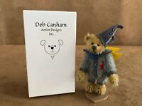 "The Tin Man Deb Canham 4"" Bear Wizard of Oz PDC062 Vintage new in box teddy mini"