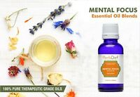 Mental Focus Essential Oil Synergy Blend Oils For Mental Attention & Clarity