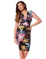 BNWT Jessica Wright Samantha Tropical Bodycon Dress UK Size 8 10 12