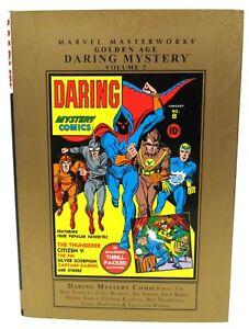 Marvel Masterworks Golden Age Daring Mystery Volume 2 HC Hard Cover
