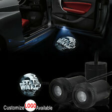 2x Star Wars Death Star Logo Car Door LED Laser Projector Ghost Shadow Light