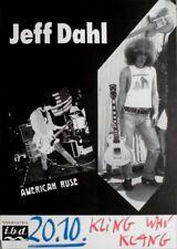 Dahl, Jeff - 1990 CONCERT POSTER-AMERICAN Ruse-TOUR POSTER-Wilhelmshaven