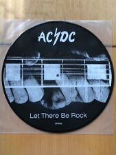 AC/DC LET THERE BE ROCK ALBERT APLP.022 LP PIC VINYL PICTURE DISC UK IMPORT RARE