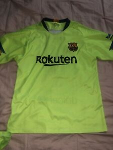 FC Barcelona Messi Uniform Messi Size 16 Shorts Shirt