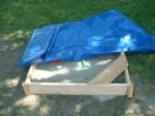 Sandkasten mit Abdeckplane Holz Sandkiste mit Abdeckung + Befestigungen