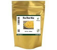 Rice Bran Wax - 100% Pure & Natural Vegan Organic Beads Pastilles Oryza Sativa
