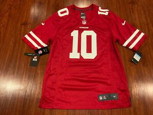 Nike Men's Jimmy Garoppolo San Francisco 49ers Game Version Jersey Medium M NFL