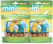 2 Bags Nootie 5 Oz Mini YumZies BBQ Real Chicken Flavor Soft Training Dog Treats