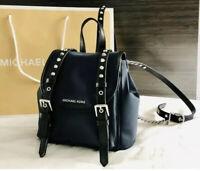 Michael Kors LEILA Backpack Admiral Designer Bag Free Shipping