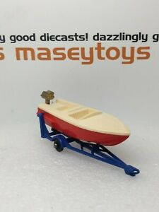 MATCHBOX Lesney No.48b Sports Boat 1960 MINT original vintage diecast