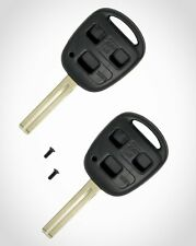 2Pcs Lexus Replacement Key Fob Shell Case Cover Smart Keyless Entry Remote Blank