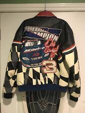 1998 Dale Earnhardt Jr. #3 Jeff Hamilton Leather Jacket Sz Medium