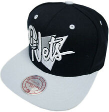 Mitchell & Ness Brooklyn Nets Snapback Cap NZ01Z Triangle script Basecap and