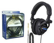 HOT MDR-7506 Professional Closed-Ear Back Large Dynamic Studio Audio Headphones