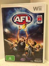 Wii - AFL   AUS PAL   Complete Copy!