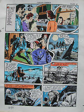 JACK KIRBY Joe Simon CAPTAIN AMERICA #10 pg 34 HAND COLORED ART Theakston 1989 Comic Art