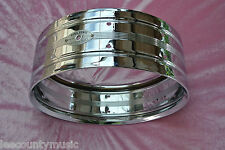 VINTAGE Rogers USA DYNASONIC SNARE SHELL with BADGE for YOUR DRUM SET! LOT #J521