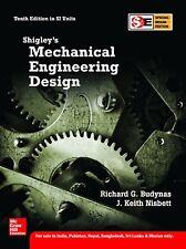 Shigley's Mechanical Engineering Design Nisbett & Budynas 10th Intl Soft Ed Same