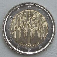 """2 Euro Spanien 2010 """"Moschee von Cordoba"""" unz"""