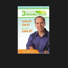 3 Steps to Incredible Health Volume 1 FREE SHIPPING Hardcover book Joel Fuhrman