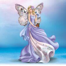 Fluttering Faith Angel Enchanted Hope Lena Liu Figurine - Bradford Exchange