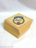 Pabst Light beer coasters 55 glass coaster PBR brewery drink cocktail bar  V4
