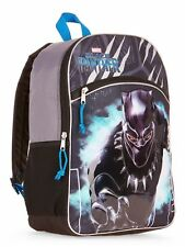 "Marvel Black Panther Backpack 16"" School Book Bag Tote Avengers"