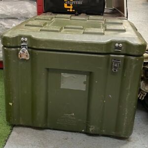 BRITISH ARMY SURPLUS AMAZON CASE LARGE ROBUST PLASTIC STORAGE BOX GRADE 2